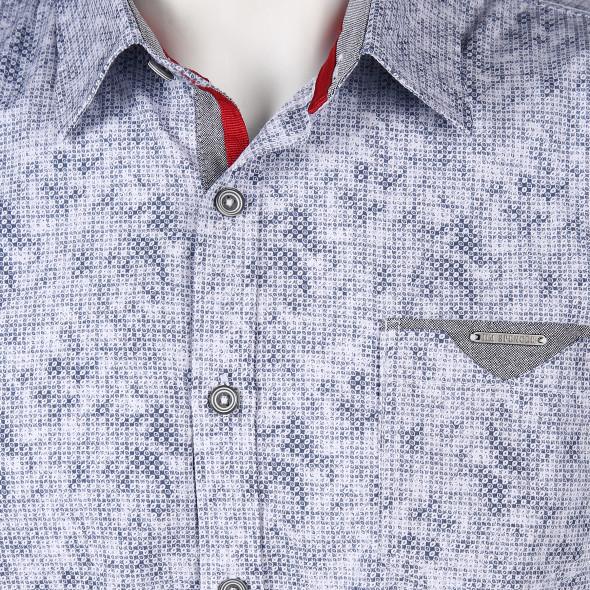 Herren Hemd mit Muster
