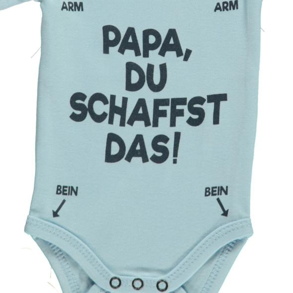 Baby Spruche Body Im 2er Pack Blau Awg Mode