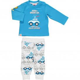 Baby Jungen Pyjama mit Print