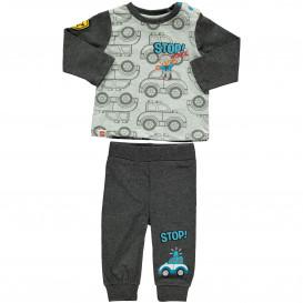 Baby Jungen Pyjama mit Autoprint