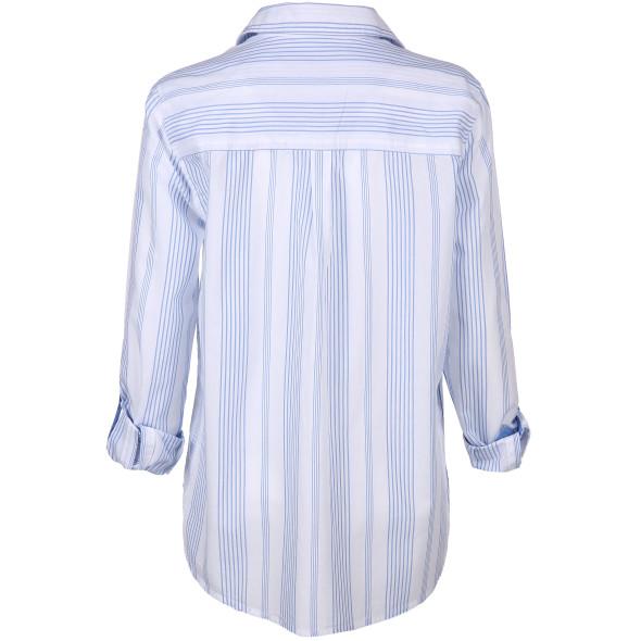 Damen Bluse im Streifenlook