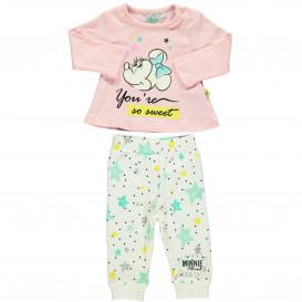 Baby Mädchen Pyjama mit Print