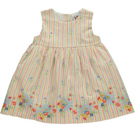 Baby Mädchen Kleid ohne Ärmel