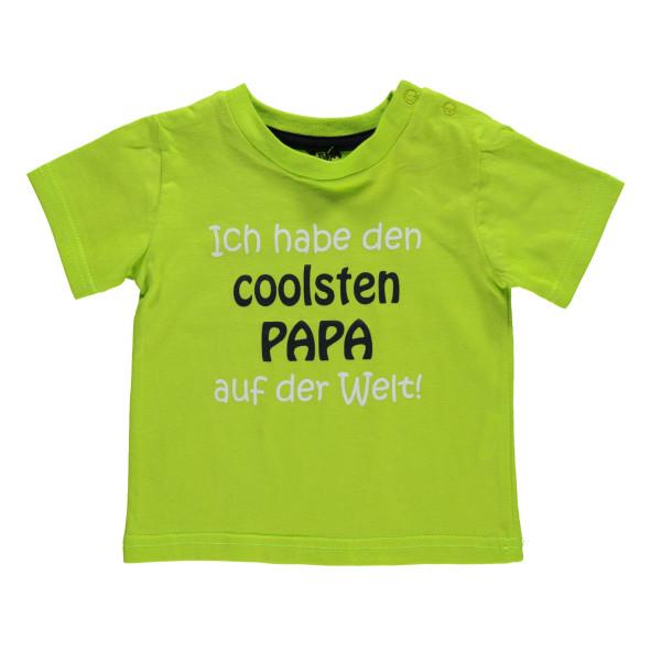 Baby Shirt mit Schriftprint