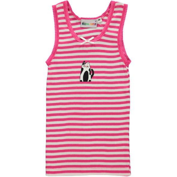 Mädchen Unterhemd mit Streifen