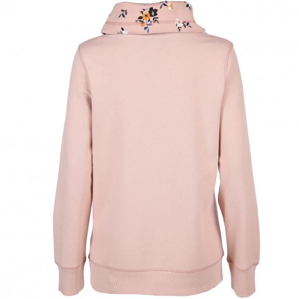 Damen Sweatshirt mit Turtleneck Kragen