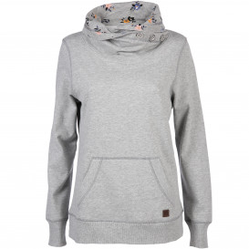 Damen Sweatshirt mit Turtleneck Kragen