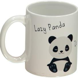 Kaffee Becher mit Panda Print 300ml