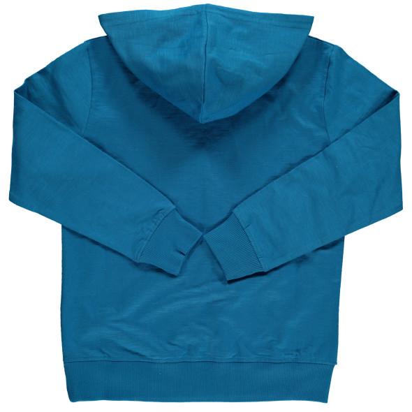 Jungen Langarmshirt mit Print und Kapuze