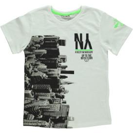 Junge T-Shirt mit Aufdruck