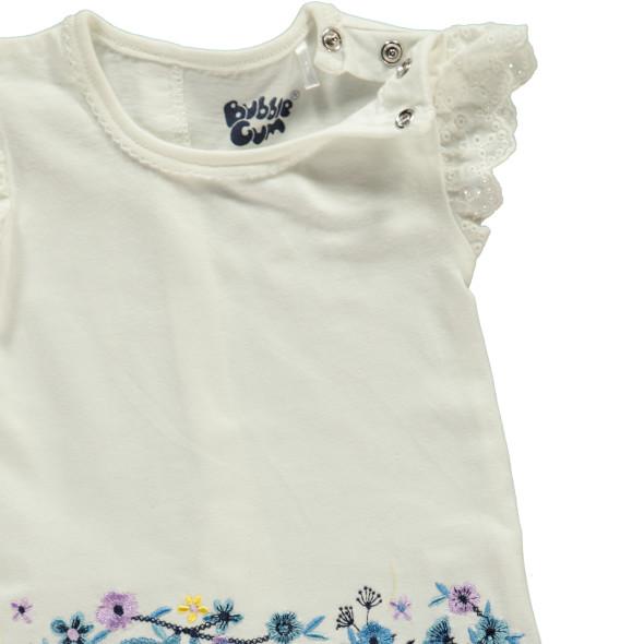 Baby Set 2tlg.mit Blumen