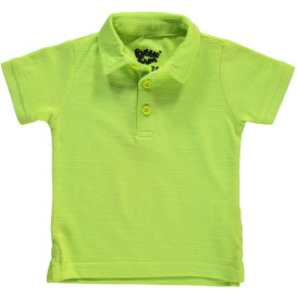 Baby Poloshirt in leuchtender Farbe