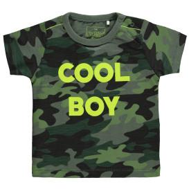 Jungen T-Shirt in Camouflageoptik