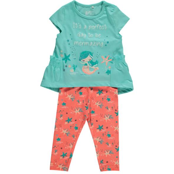 Baby Mädchen 2er Set bestehend aus Shirt und Hose