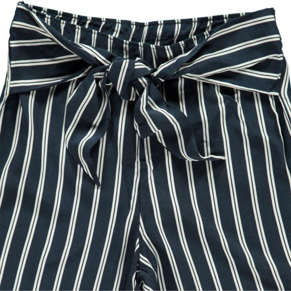 Mädchen Culotte Hose mit Streifen