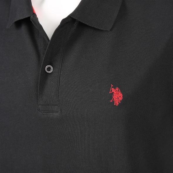 Herren Poloshirt mit Stickerei