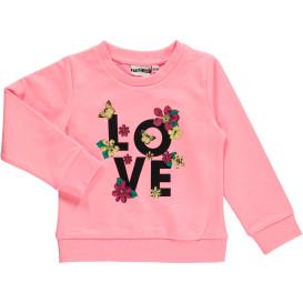 Mädchen Sweatshirt mit Frontprint