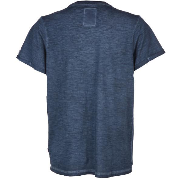 Herren Shirt im Used Look mit Knopfleiste