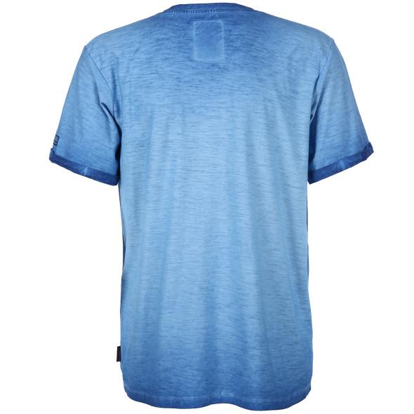 Herren Shirt im Used Look mit V-Ausschnitt