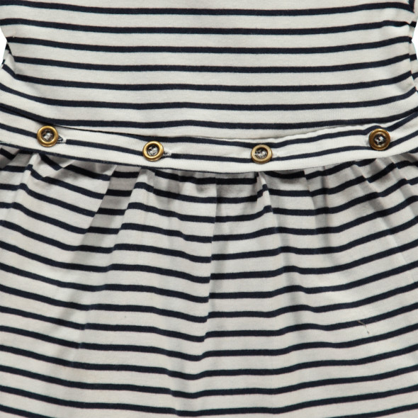 Baby Mädchen Kleid in Streifenoptik