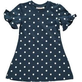 Mädchen Kleid mit Punkten