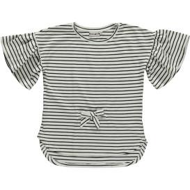 Mädchen Shirt mit Trompetenärmeln