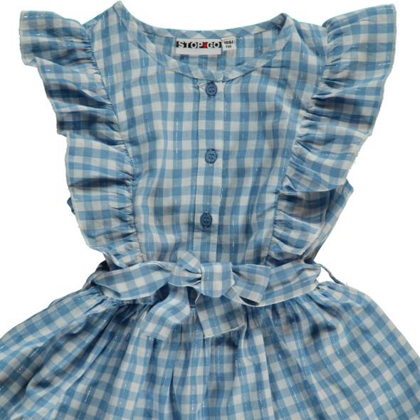 Mädchen Kleid mit Muster