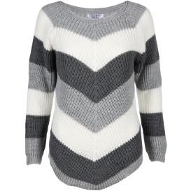 Damen Pullover im Color-Blocking