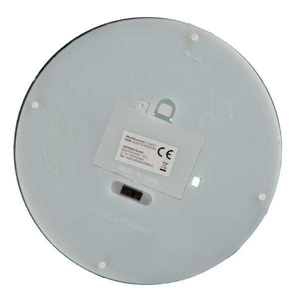 Dekoflasche mit LED Lichterkette 30cm hoch