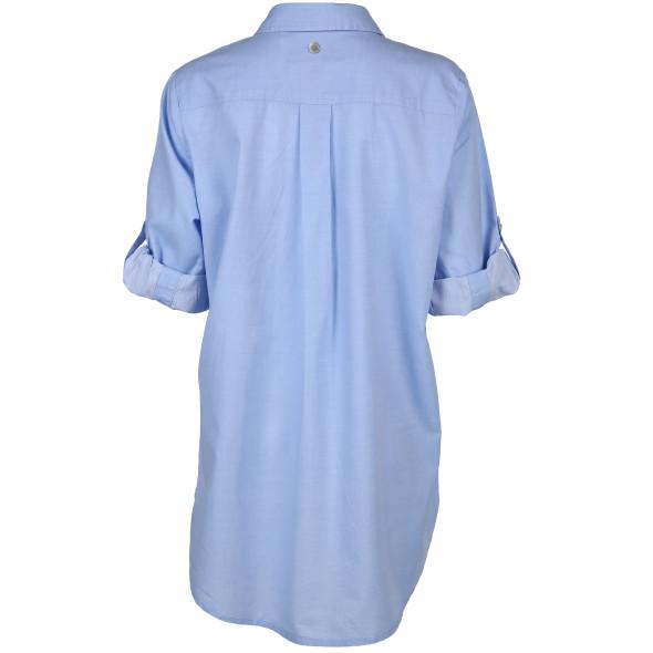 Damen Basic Bluse mit 3/4 Ärmeln