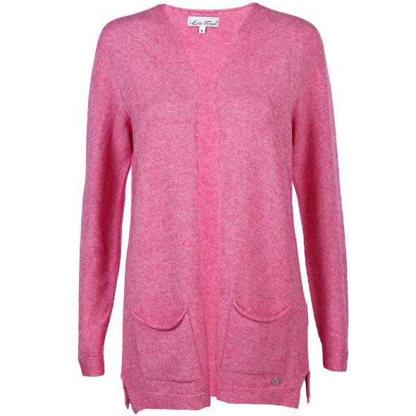 bd1eea8f17 Damen Cardigan in langer Form (Pink) | AWG Mode