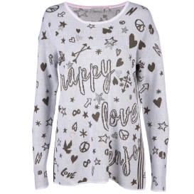 Damen Pullover mit Comic Motiven