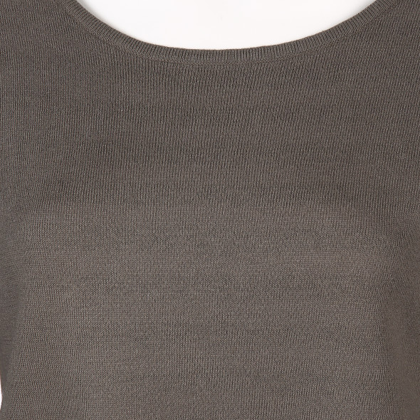 Damen Pullover  in Doubleface Optik