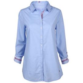 Damen Bluse mit Seitenstreifen