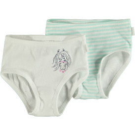 Mädchen Unterhosen 2er Pack in Größe 116