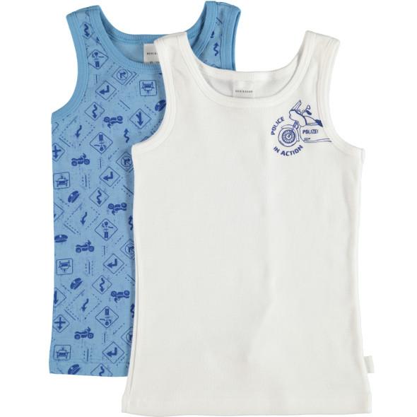 Jungen Unterhemden im 2er Pack Größe 104