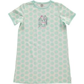 Mädchen Nachthemd mit Punkten in Größe 128