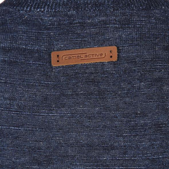 Herren Pullover mit rundem Ausschnitt
