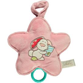 Baby Spieluhr mit Stickerei 20x20cm