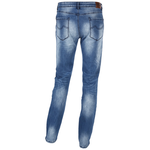 Herren Jeanshose in hellerer Waschung