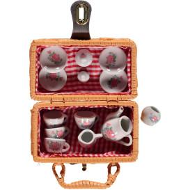 Mini-Tee-Set aus Porzellan