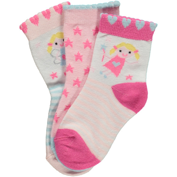 Mädchen Socken im 3er Pack