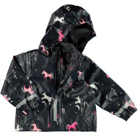 Mädchen Regenjacke mit Einhörnern