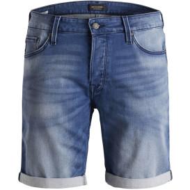 Herren Jack&Jones Jeansshort im Used Look