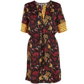 Damen Scotch&Soda Kleid im Musterrmix