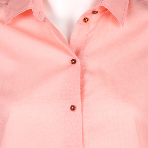 Damen Scotch&Soda Bluse unifarben