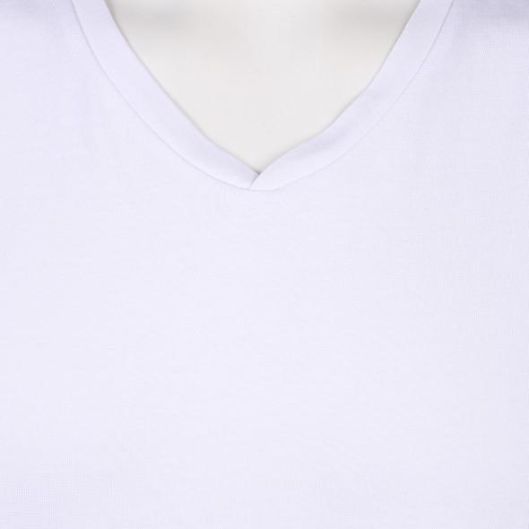 Herren Basic T-Shirt mit V-Ausschnitt