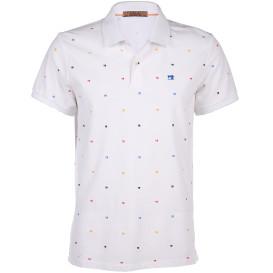 Herren Scotch&Soda Poloshirt mit kleinem Print