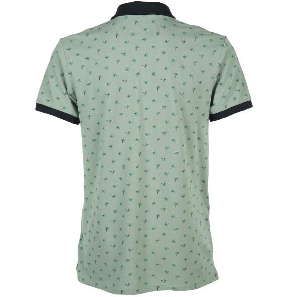 Herren Poloshirt mit kleinem Print