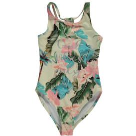 Mädchen Badeanzug mit Blumenprint